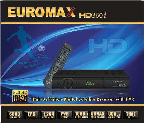 Euromax HD360i Receiver