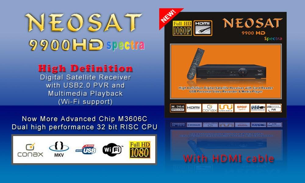 Neosat 9900 HD Spectra Receiver Software - Mr-Dish
