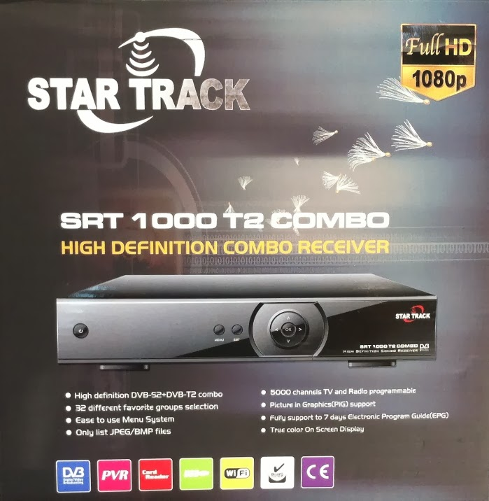 Star Track SRT-1000 T2 Combo HD Satellite Receiver Software