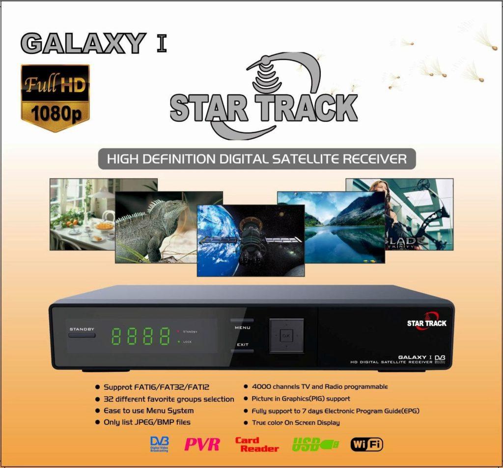 StarTrack Glaxy 1 HD Satellite receiver Software