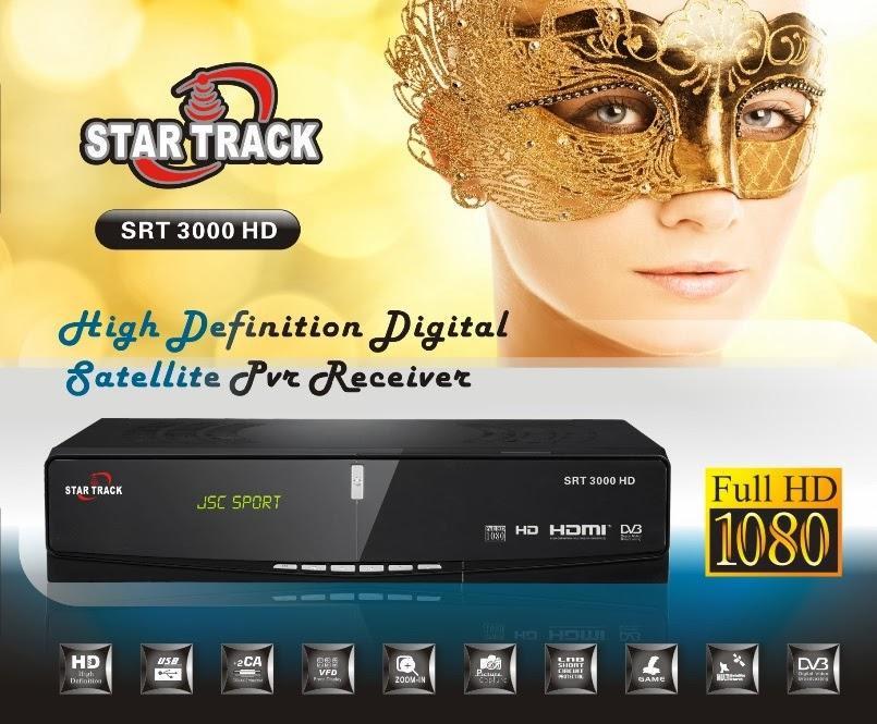Startrack SRT-3000 HD Satellite Receiver Software Loader