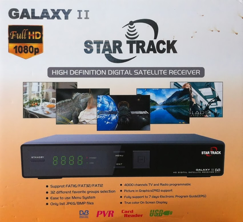 Star Track Gkaxy II HD Satellite Receiver Software Loader