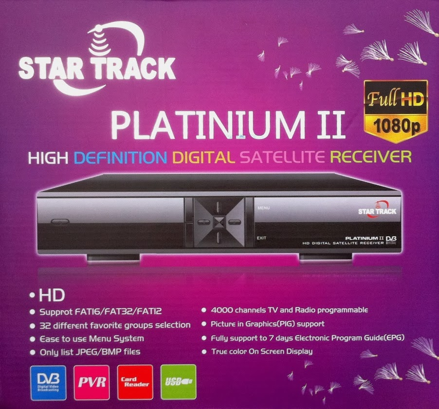 Star Track Platinum II HD Satellite Receiver Software Loader