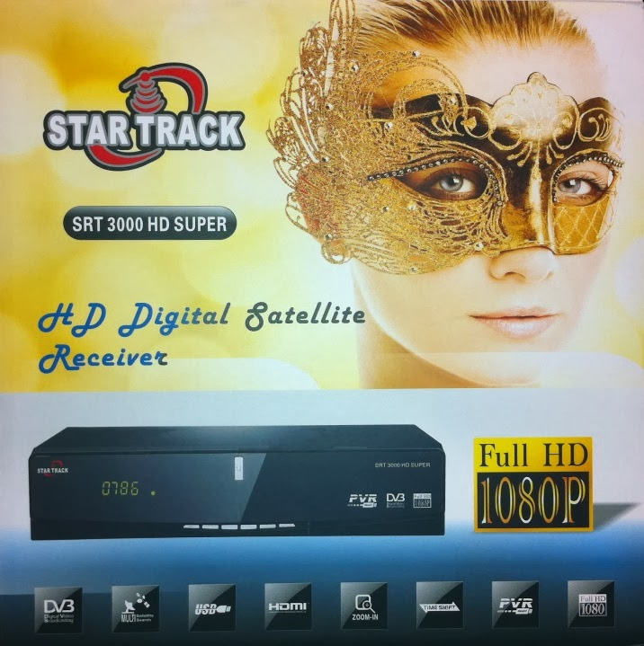 Startrack SRT-3000 HD Super Satellite Receiver Software Loader