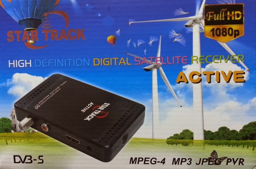 Star Track Active HD Satellite Receiver Software Loader