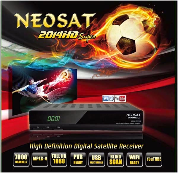 Neosat 2014 HD Spectra Super Digital Satellite Receiver Software Loader