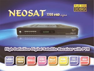 NEOSAT 7700 HD sigma DIGITAL SATELLITE RECEIVER