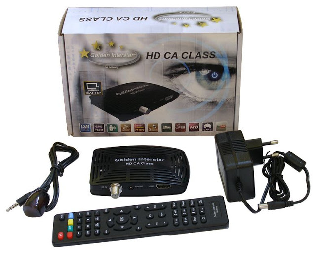 Golden Interstar HD CA CLASS Satellite Receiver Software, Tools