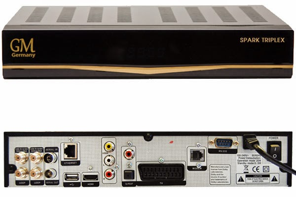Golden Media SPARK - TRIPLEX HD Satellite Receiver