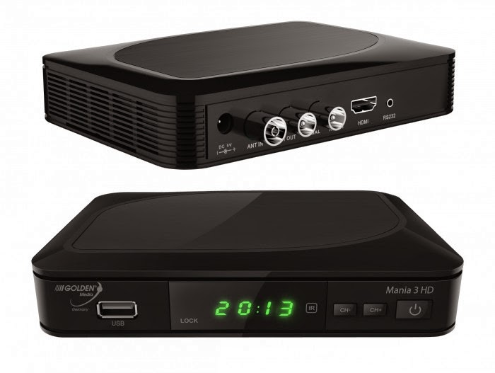 Golden Media MANIA 3 HD Satellite Receiver