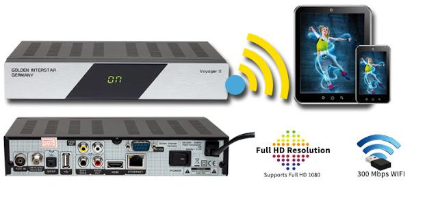 Golden Interstar VOYAGER 2 Satellite Receiver Software, Tools