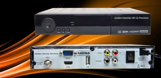 Glden Interstar HD CA PREMIUM Satellite Receiver