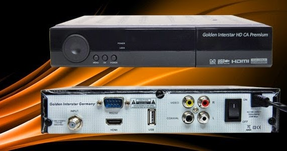 Golden Interstar HD CA Premiun Receiver Software, Tools