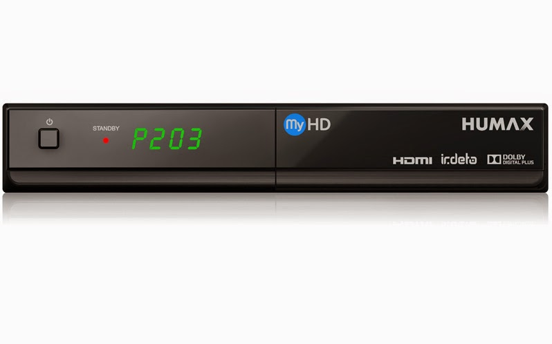 Humax IR-FREE MyHD High Definition Digital Satellite Receiver