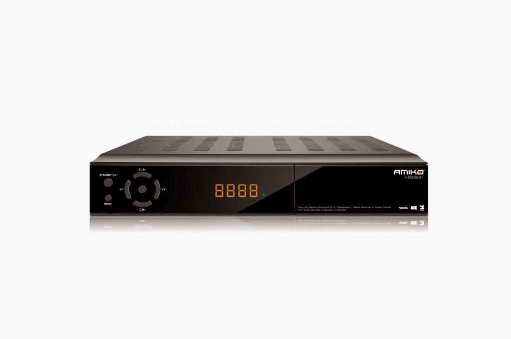 Amiko HD 8260+ Satellite Receiver Software