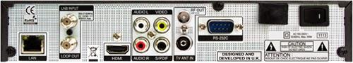 Technomate TM-F3/5 High-Definition Satellite Multimedia Center Receiver Software