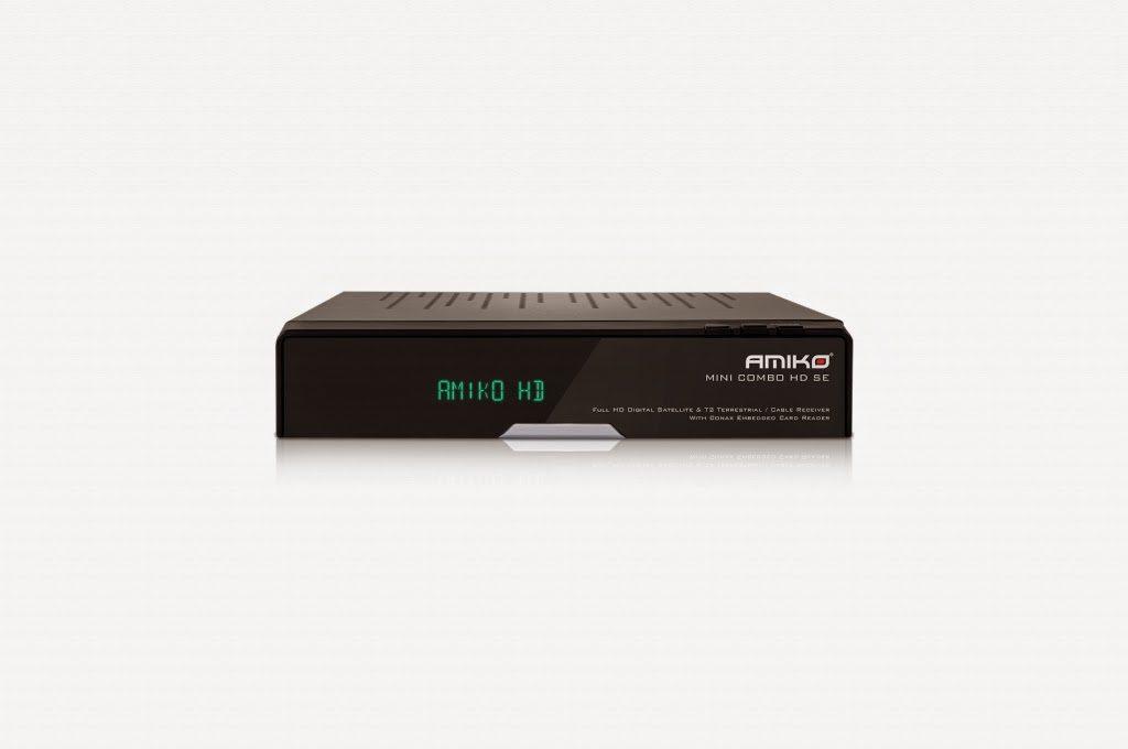 Amiko Mini Combo HD SE Setllite Receiver Software