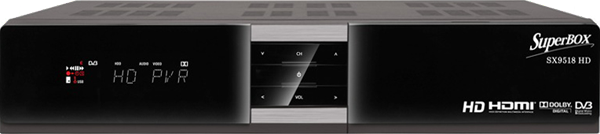 SuperBOX Master HD 9518 Satellite Receiver Software