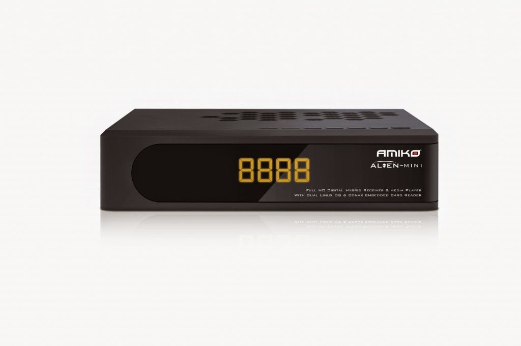 Amiko Alion Mini HD Satellite Receiver Software