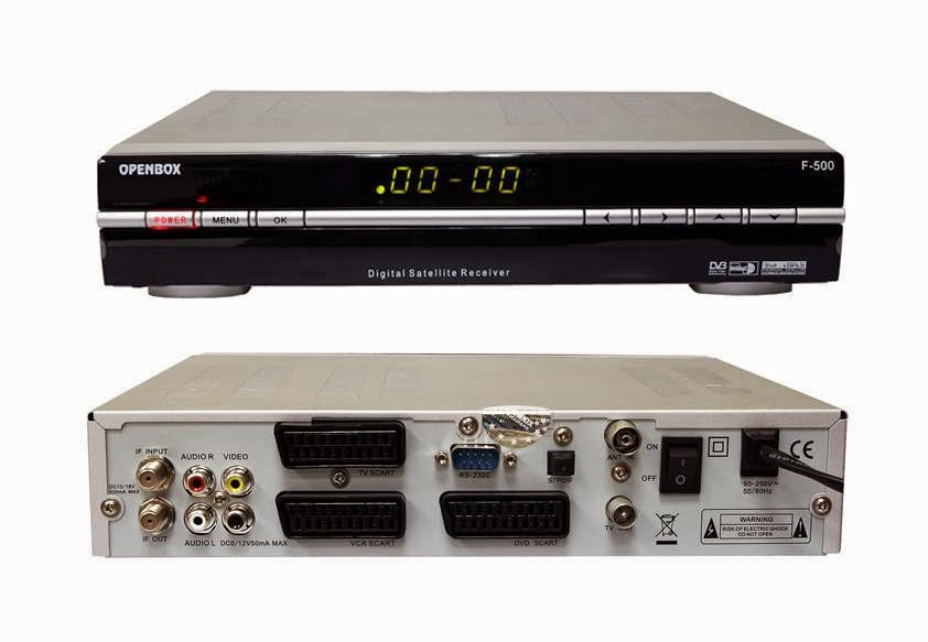 OpenBox F500 FTA Satellite Receiver Software