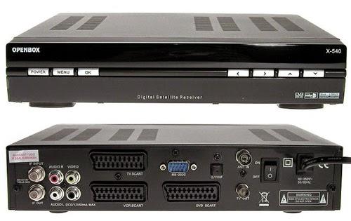 OpenBox X-540 Satellite Receiver Software