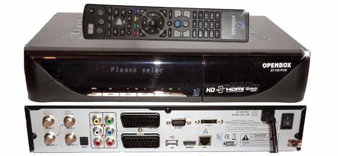 OpenBox S7 HD PVR Satellite Receiver Software