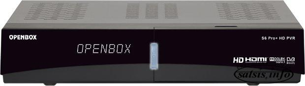 Openbox S6 Pro+ HD Satellite Receiver Software
