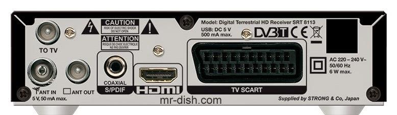 Strong SRT 8113 Satellite Receiver Software