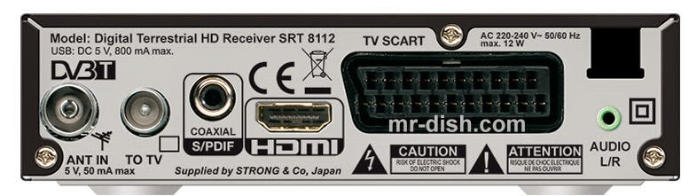 Strong SRT 8112 Satellite Receiver Software