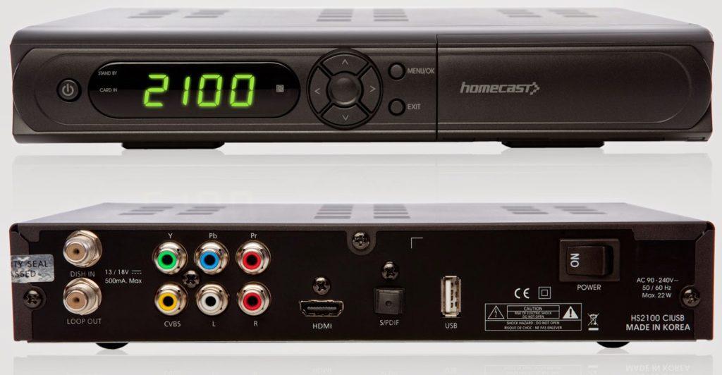 Homecast HS2100 CIUSB