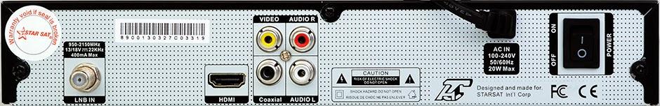 Starsat SR-8900HD