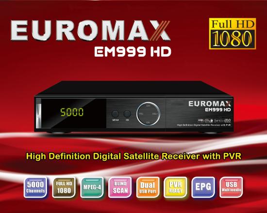 EUROMAX EM999 HD