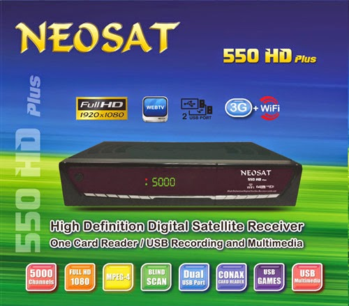 NEOSAT 550 HD Plus