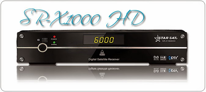 Starsat SR-1000HD Receiver Software