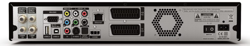 VANTAGE HD 8500S Twin PVR mit 500 GB Digital Satellite Receivers Downloads