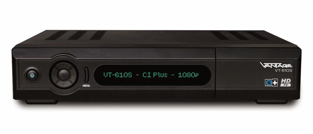 VANTAGE VT-610S Digital Satellite Receiver Downloads