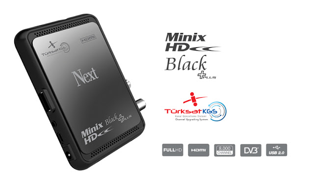 Next Minix HD Black Plus