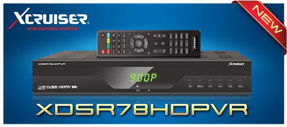 XCRUISER XDSR 78HD PVR