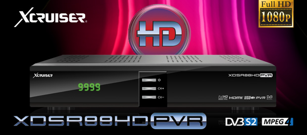 XCRUISER XDSR 88HD PVR