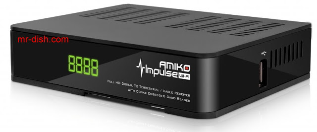AMIKO IMPULSE T2/C WIFI Sortware , Firmware