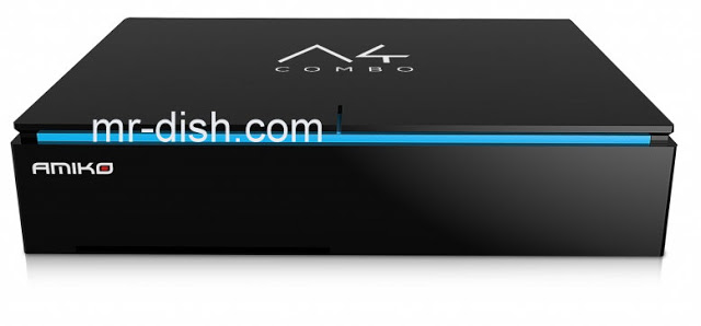 AMIKO A4 COMBO 4K Receiver Software, Apps