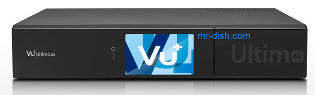 Vu+ Ultimo 4K Satellite Receiver Software, Images , Tools, Apps