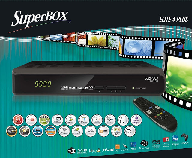 Superbox Elite 4 Plus satellite Receiver Software, Tools
