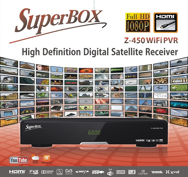SUPERBOX Z-450 WiFi PVR Satellite Receiver Software, Tools