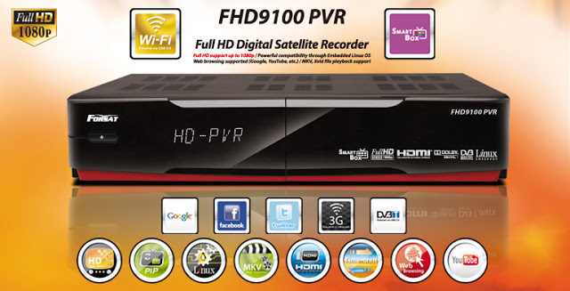 Forsat FHD9000 PVR Receiver Software, Tools