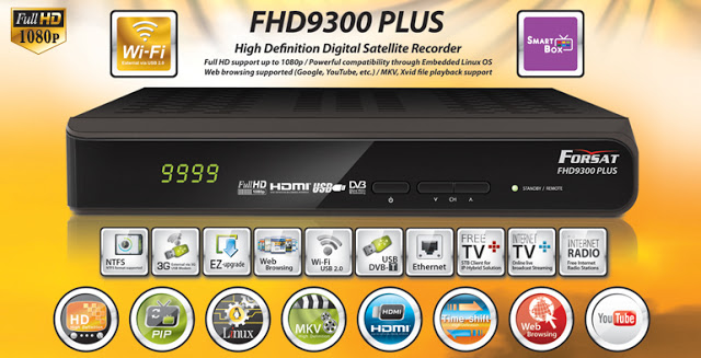Forsat FHD9300 PVR Receiver Software, Tools