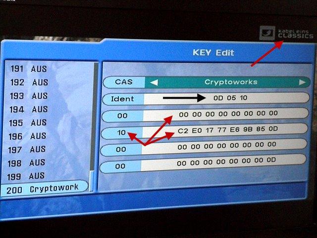 Cryptoworks Keys Latest Updated