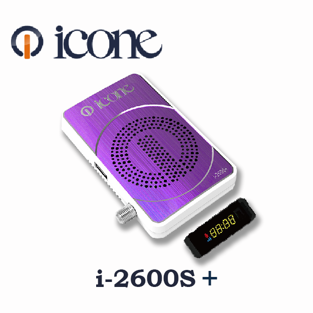 Icon i-2600S+ Satellite Receiver Software, Tools