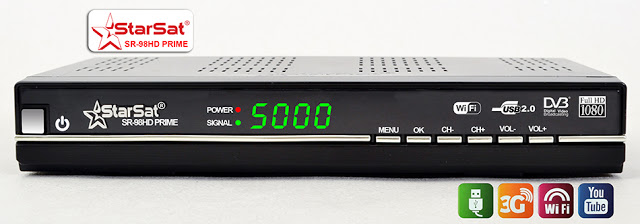 Starsat SR-98HD_PRIME Satellite Receiver Software, Tools