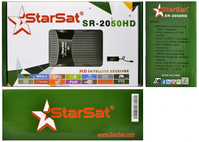 Starsat SR-2050HD Satellite Receiver Software, Tools
